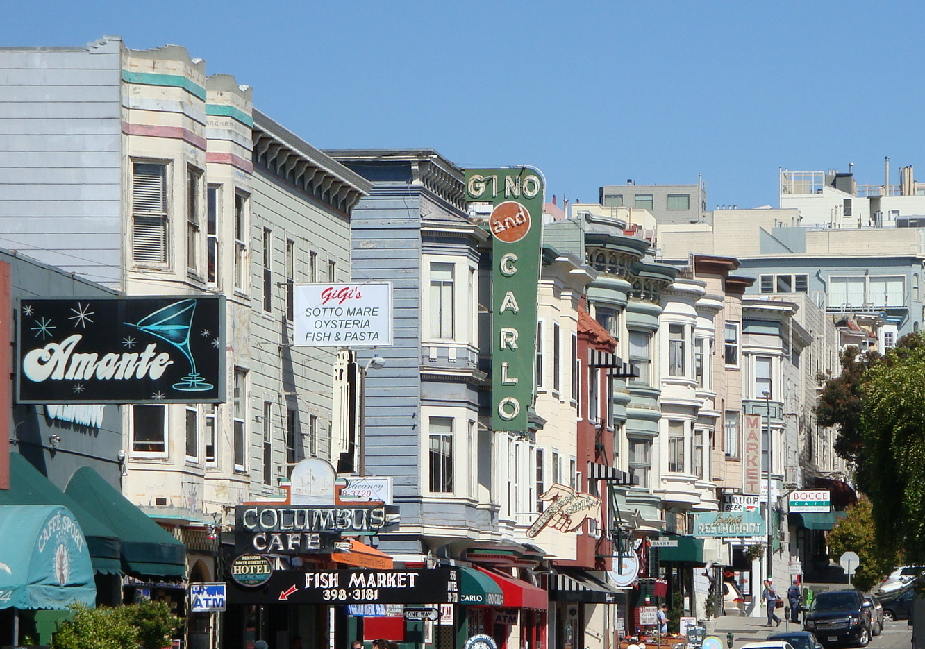 Mixed-use real estate in San Francisco