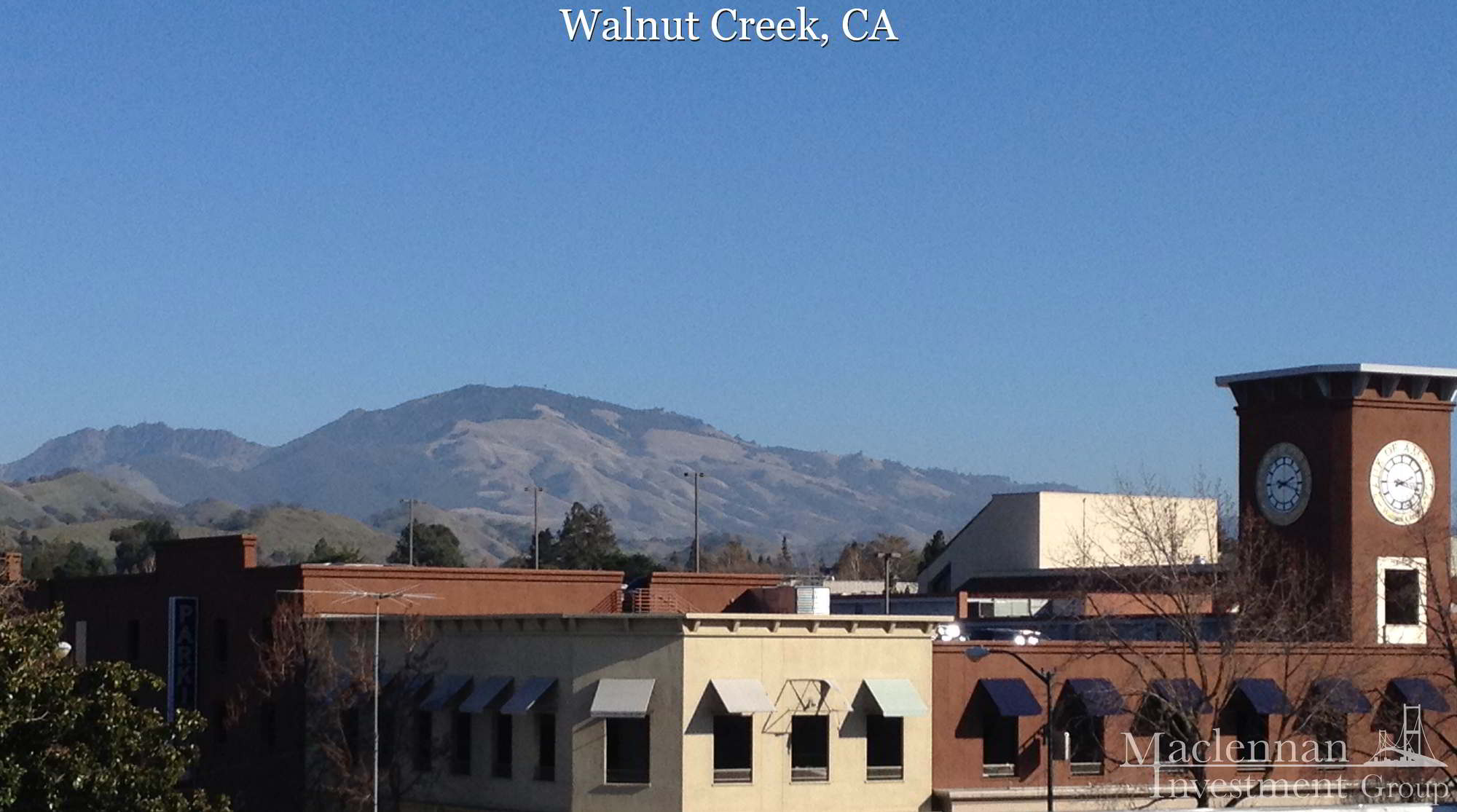 Walnut Creek, CA Downtown