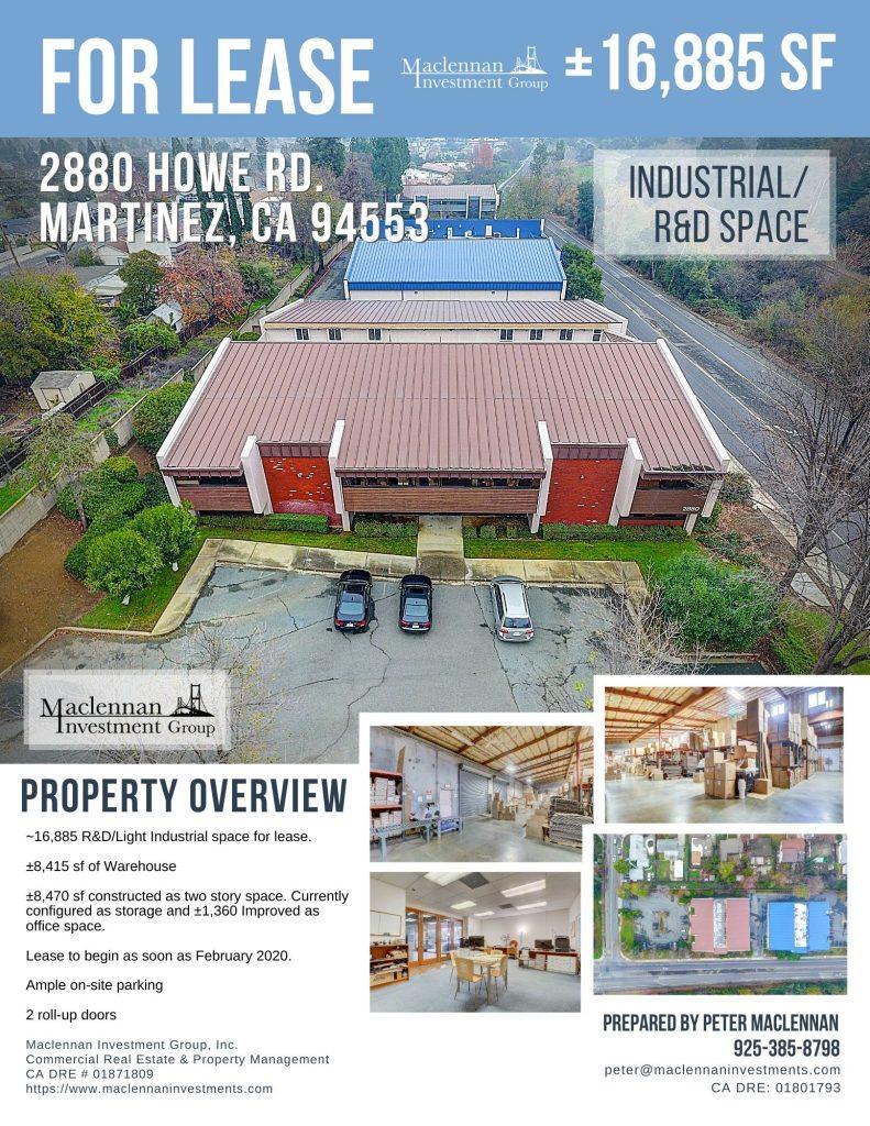 2880 Howe Rd Flyer