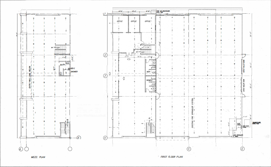 Space Plan - 2880 Howe Rd